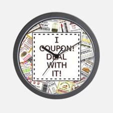 I COUPON! Wall Clock