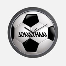 Customizable Soccer Ball Wall Clock