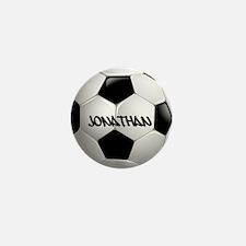 Customizable Soccer Ball Mini Button (10 pack)
