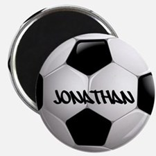 Customizable Soccer Ball Magnets