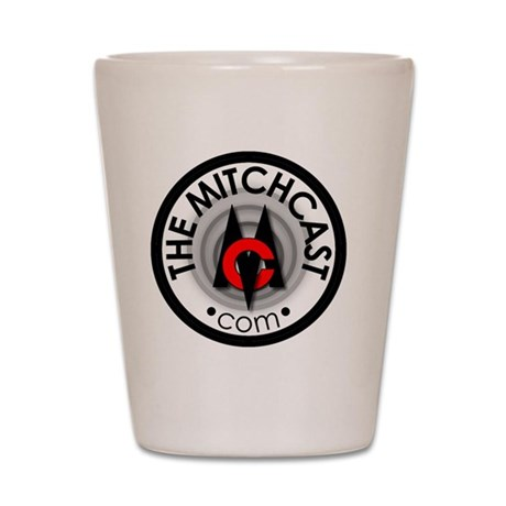 mitchcast_circle_cp Shot Glass