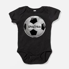Customizable Soccer Ball Baby Bodysuit