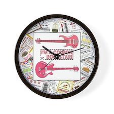 ROCKSTAR Wall Clock