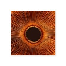 """An abstract hole Square Sticker 3"""" x 3"""""""
