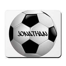 Customizable Soccer Ball Mousepad