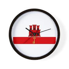 Gibraltar - Dark Wall Clock