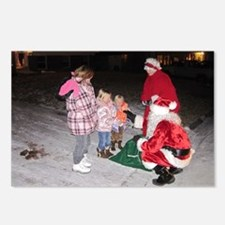 Roving Christmas Tree  Postcards (Package of 8)