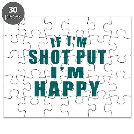 Shot Put I Am Happy Puzzle
