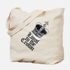 British Crown Tote Bag
