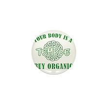 Buy Organic/Temple Mini Button
