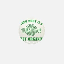 Buy Organic/Temple Mini Button
