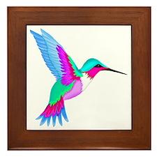 HUMMINGBIRD 2 Framed Tile