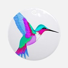 HUMMINGBIRD 2 Round Ornament