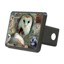 Happy Owls Hitch Cover