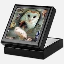 Happy Owls Keepsake Box