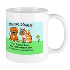 Smiling Doggie bumper sticker Mug