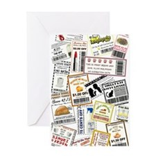 I HAVE COUPONS! Greeting Card
