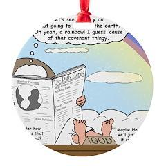 Rainbow: God's Sticky Note Ornament