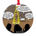 David Wins Israeli Idol Round Ornament