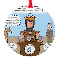 King David Ornament