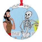 Uzzah's Very Bad Day Round Ornament