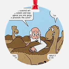 Camel Talk Ornament