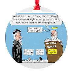 Calvin and Predestination Ornament