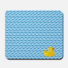Ducky Swim Mousepad