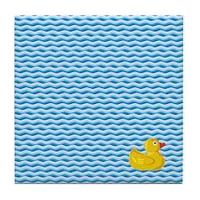 Ducky Swim Tile Coaster