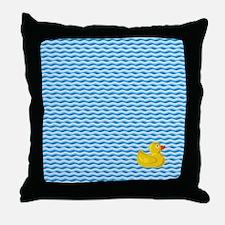 Ducky Swim Throw Pillow