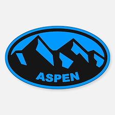 Aspen Oval Sticker (Oval)