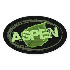 Aspen Oval Decal