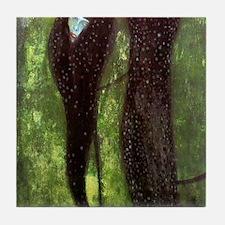 Gustav Klimt Art Tile Set (1 of 2) - Mermaids