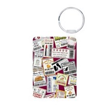 SCATTERED COUPONS Keychains