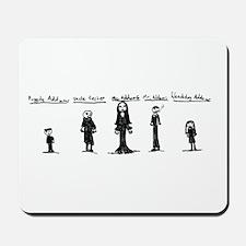 Addams Family Mousepad