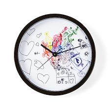 Sadie Style Wall Clock