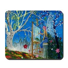 Fairy Artist Mousepad