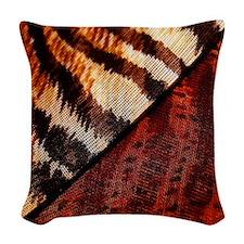 Wild Thing Woven Throw Pillow