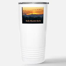 Smoky Mountain Post Card Front Travel Mug
