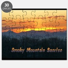 Smoky Mountain Post Card Front Puzzle