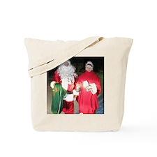 Mr and Mrs Josh Santa Claus Tote Bag