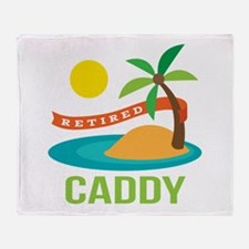 Retired Caddy Throw Blanket