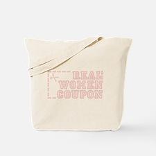 REAL WOMEN COUPON Tote Bag