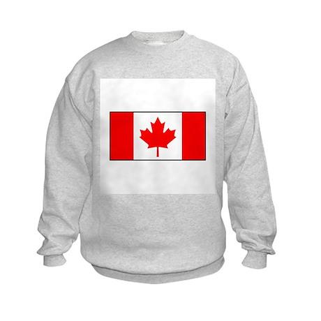 Canada Flag Kids Sweatshirt