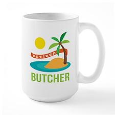 Retired Butcher Mug