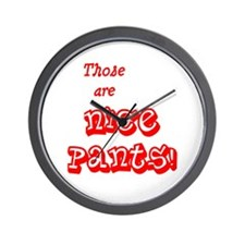 NicePants Wall Clock