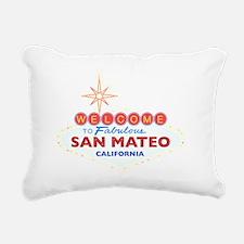 SAN MATEO Rectangular Canvas Pillow