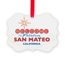 SAN MATEO Ornament