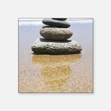"serenity stones Square Sticker 3"" x 3"""