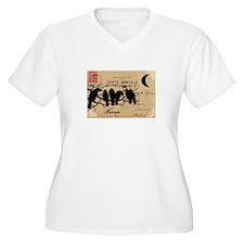 Nevermore Ravens Carte Postale T-Shirt